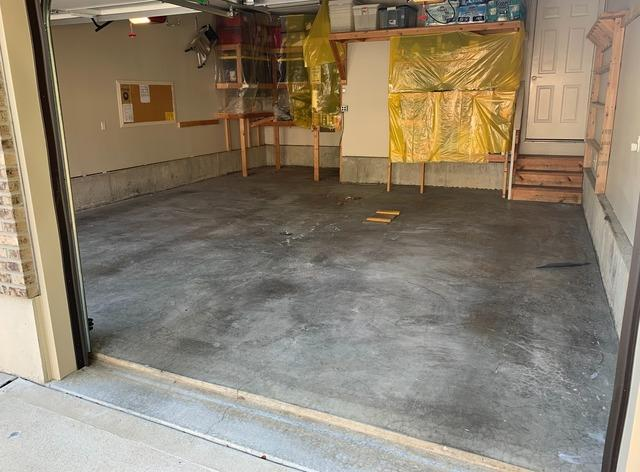 Polyaspartic Floor Coating in Independence, MO