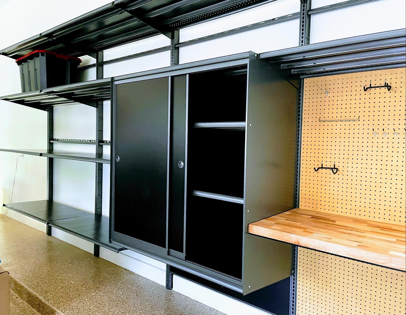 Hello Garage storage and organizational system in Houston, TX - After Photo