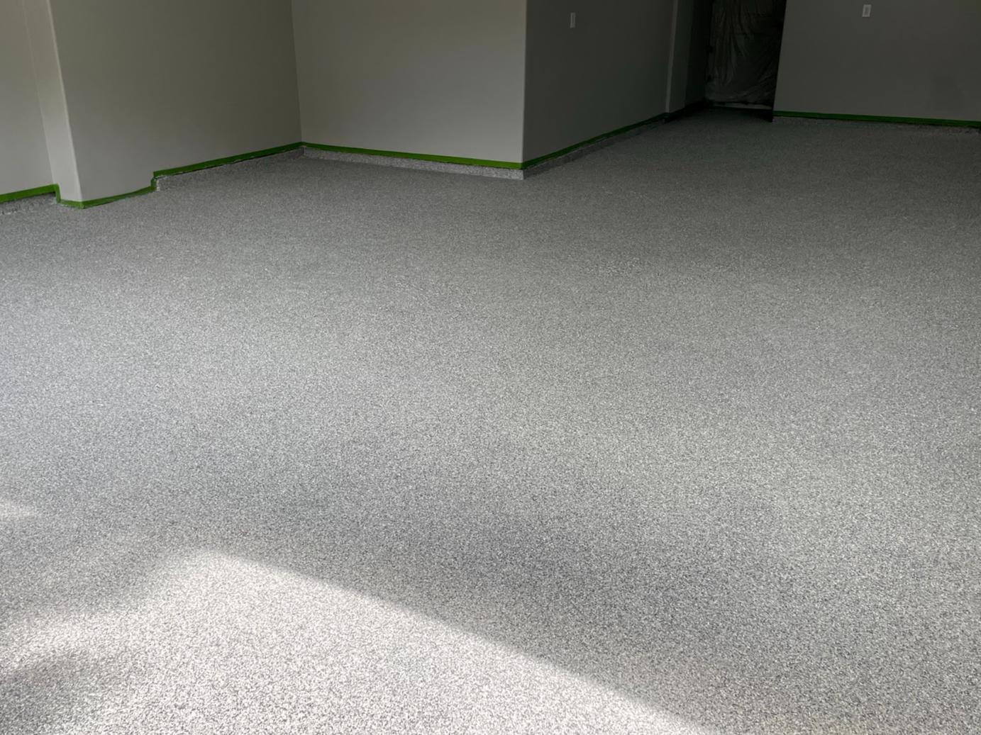 Garage floor make-over in Katy, TX - After Photo