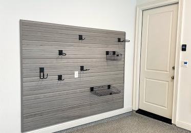 Garage make-over with Slat Wall system in Houston, TX - After Photo