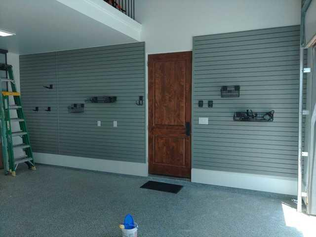 Garage Floor Coating And Slatwall In Houston, TX