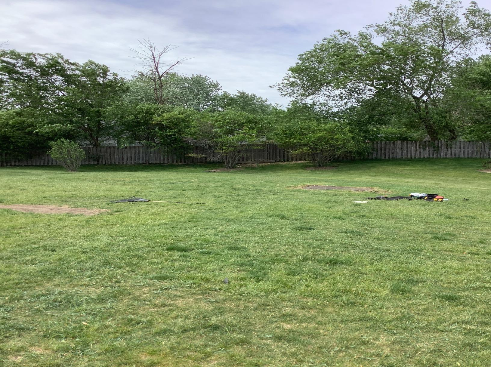 Saint Charles, IL Spring Cleaning Yard Debris Playground Removal - After Photo