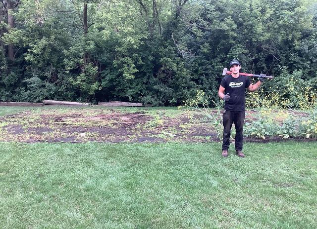 Spring Cleaning Yard-Debris Playground Removal in Palatine, IL