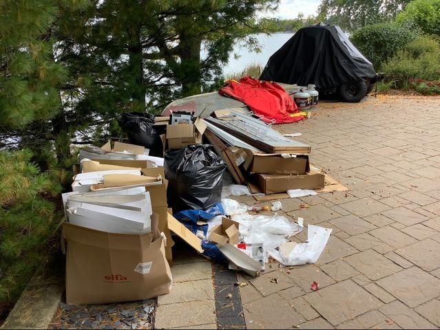 Junk Removal for a NAPO Professional in Barrington, IL