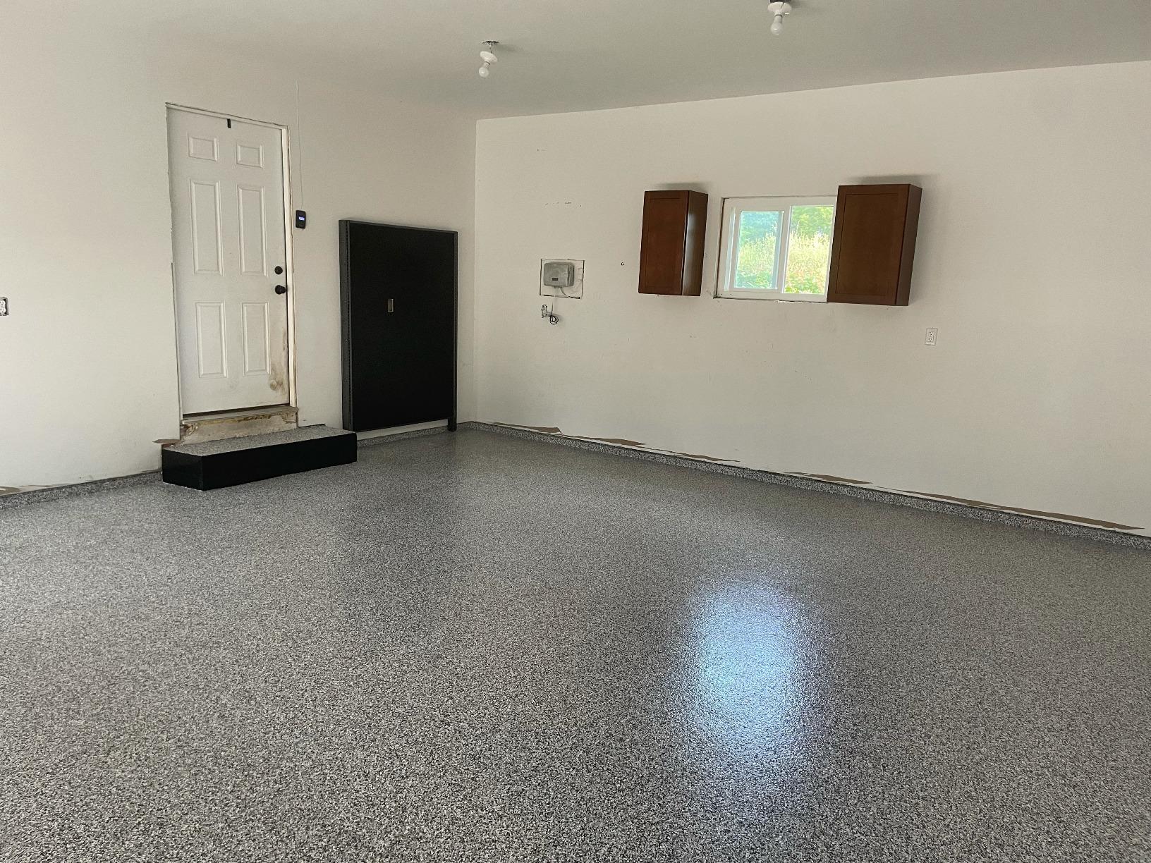 Sprucing Up A Middleville Garage Floor - After Photo