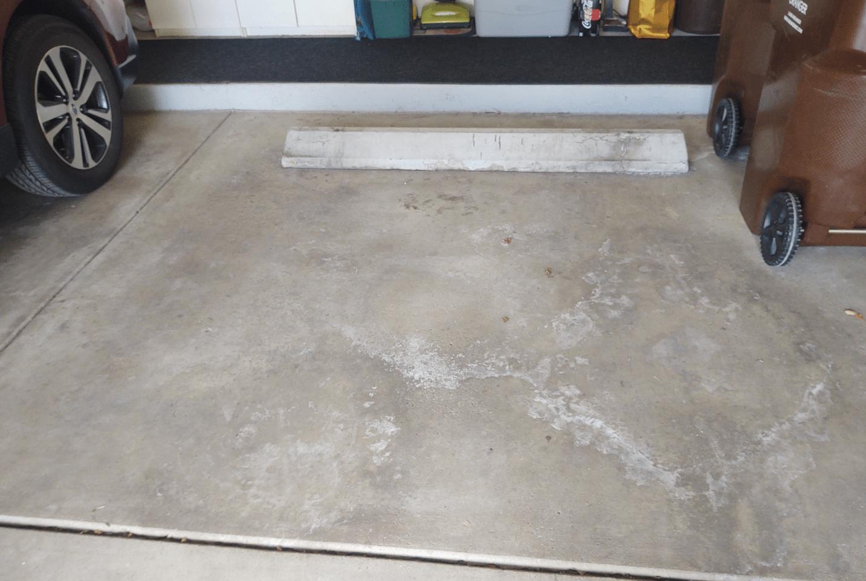 Improving an Okemos, MI Garage - Before Photo