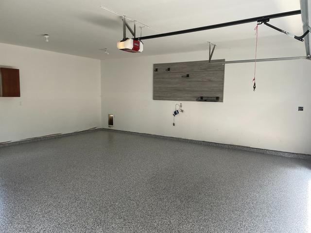 Adding Storage to a Middleville, Michigan Garage - After Photo