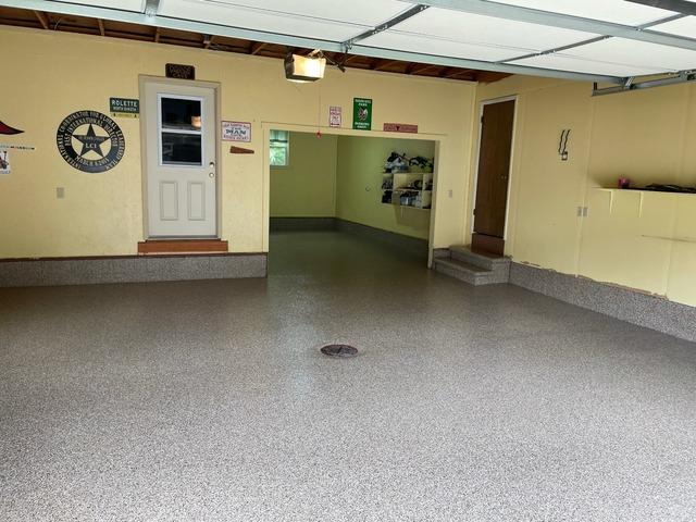 Making a Muskegon Garage Usable - After Photo