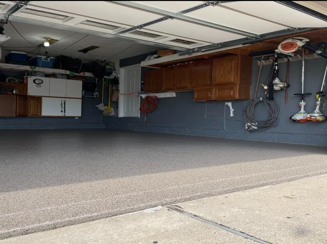 Turning a Grand Ledge Garage into a Usable Workspace - After Photo