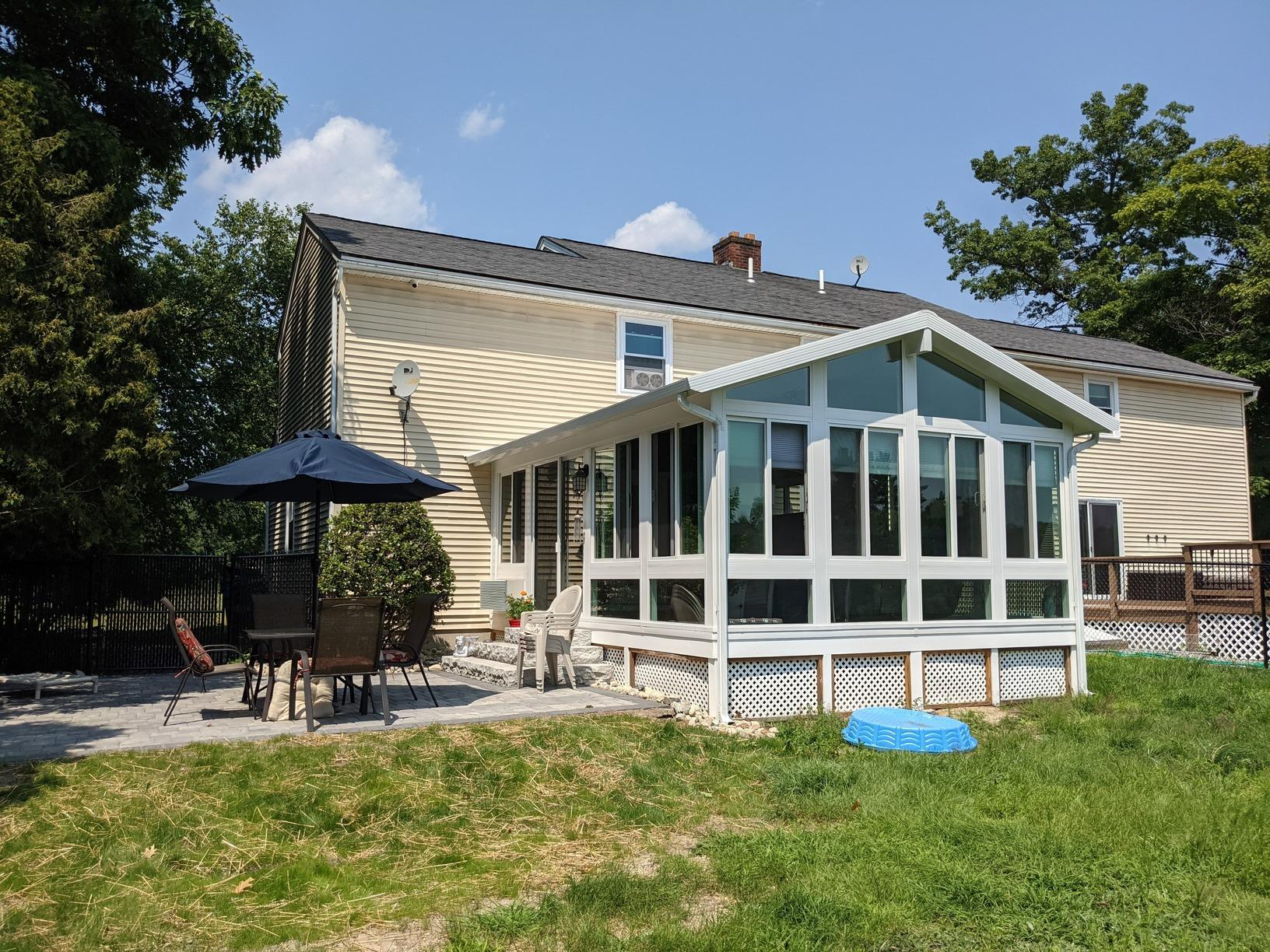 Four-Season Sunroom Built in Londonderry, NH - After Photo