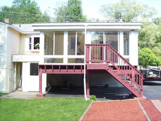 3-Season Sunroom Built Keene, NH