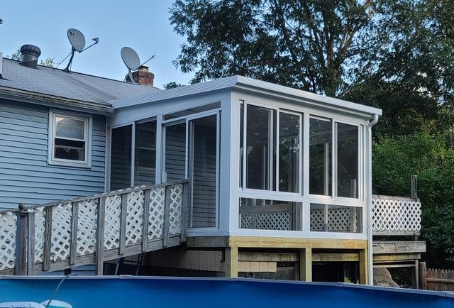 3-Season Patio Style Sunroom, Merrimack, NH