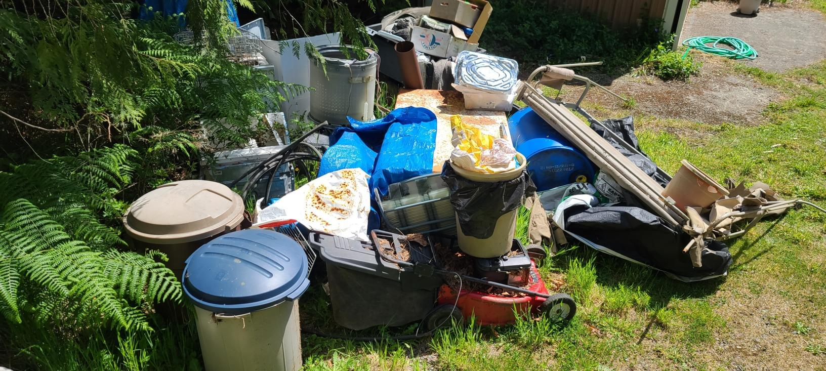 Junk Removal Services in Arlington, WA - Before Photo