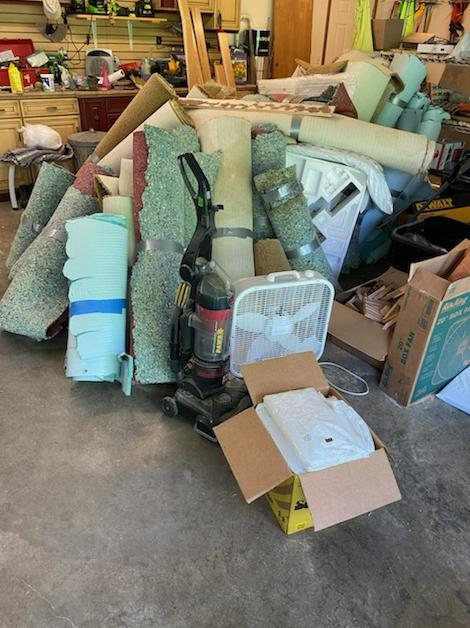 Renovation Cleanout Services in Arlington, WA - Before Photo