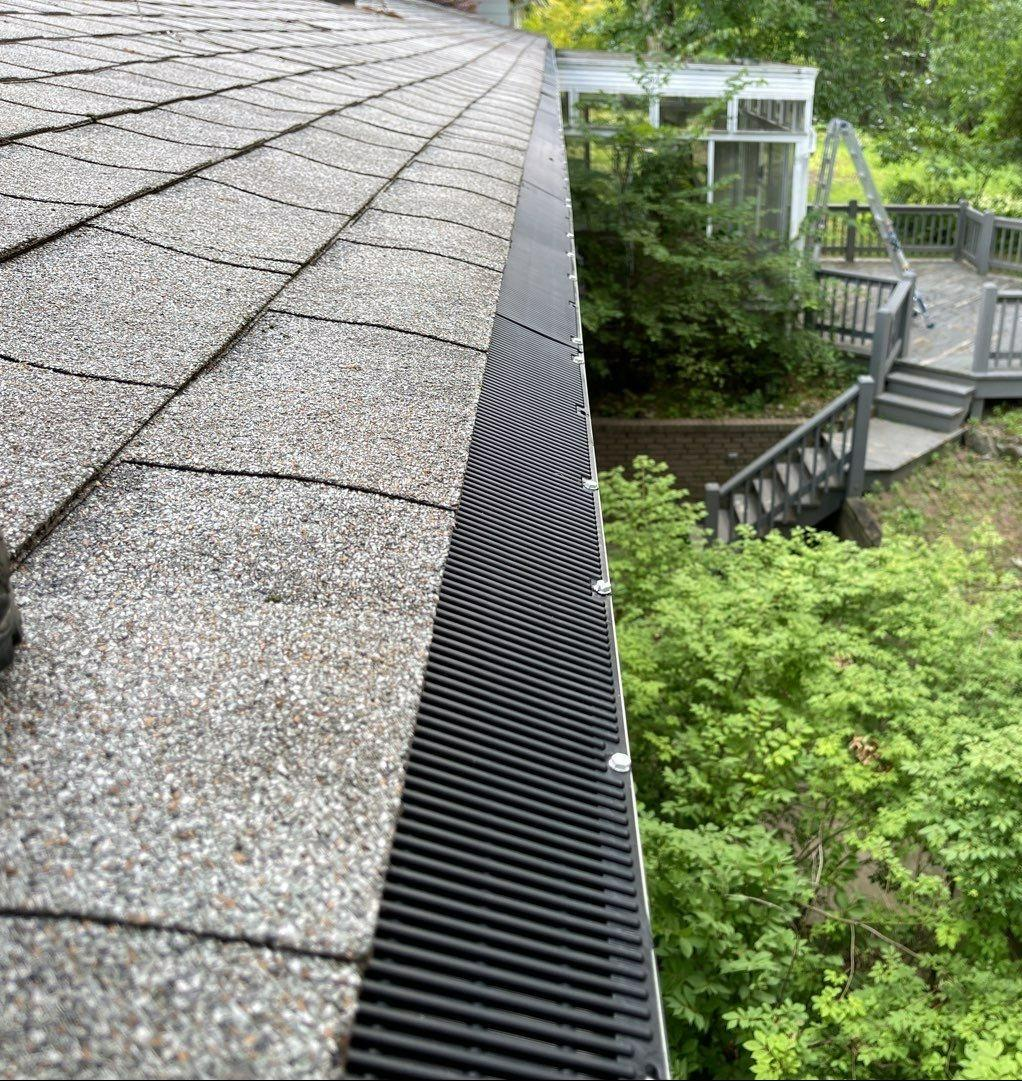 Full Gutter Replacement in Akron, Ohio - After Photo
