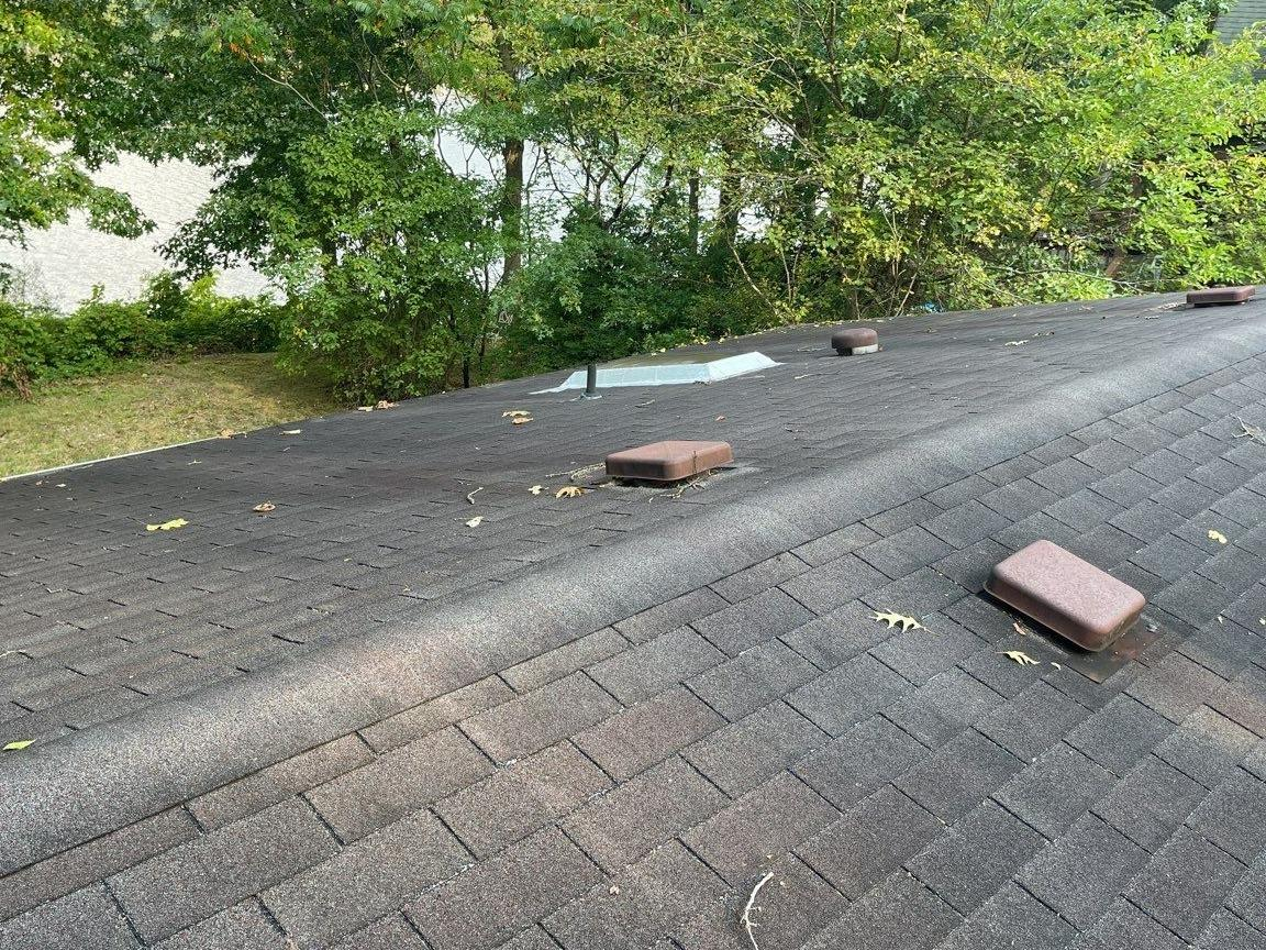 Complete Roof Replacement in Hiram, Ohio - Before Photo