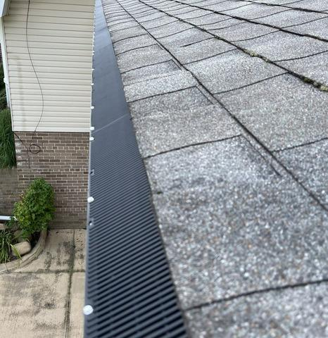 GutterShutter Installed in Niles, Ohio - After Photo