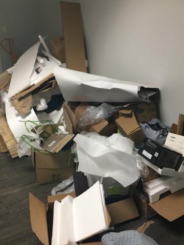 Jacksonville, FL Office Cleanout