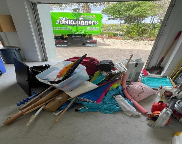 Atlantic Beach, FL Garage clean out