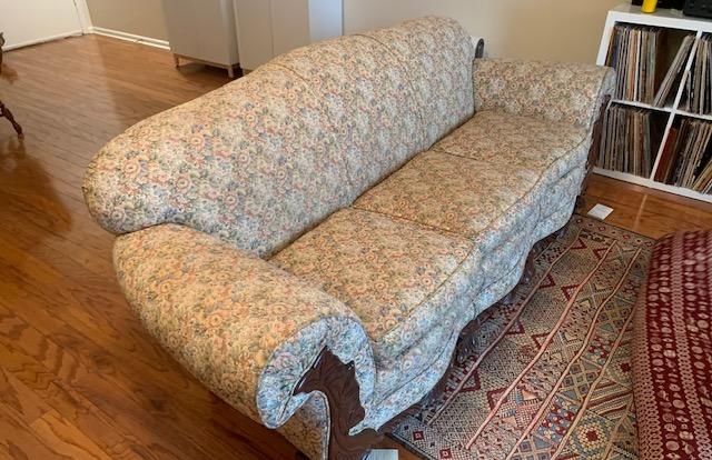 Furniture Removal Services, Alamo Heights, TX - Before Photo