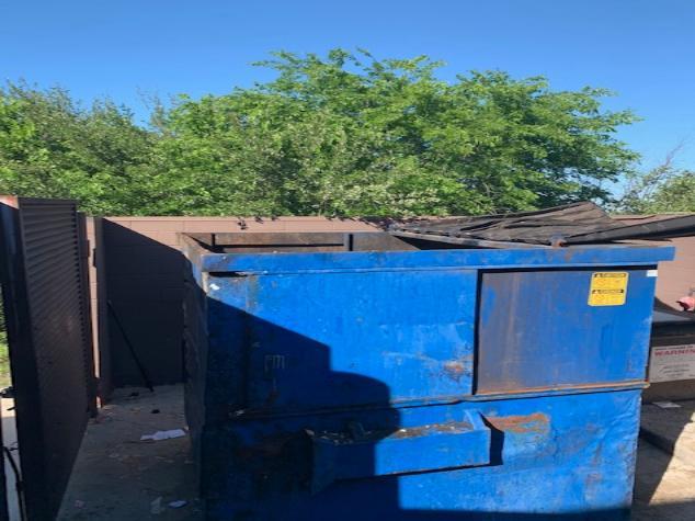 Dumpster Cleanout Services, San Antonio, TX - After Photo