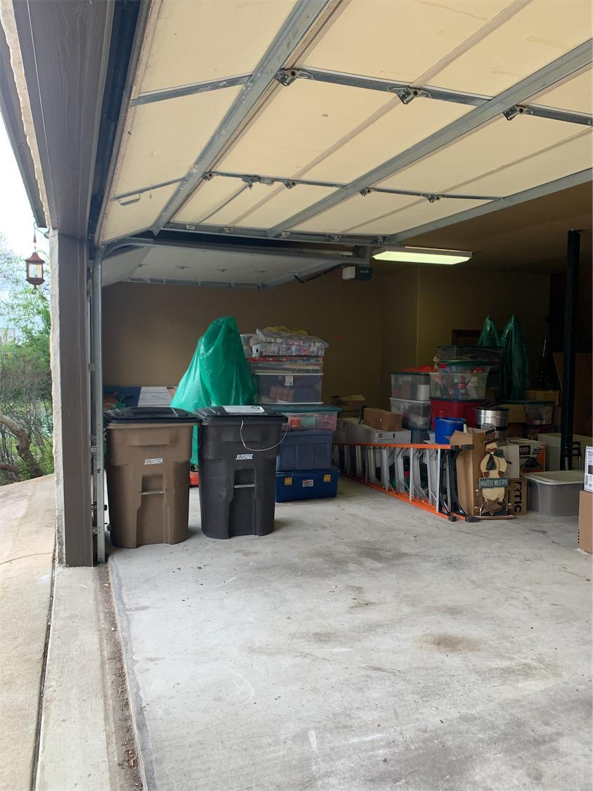Garage Cleanout, Boerne, TX - After Photo