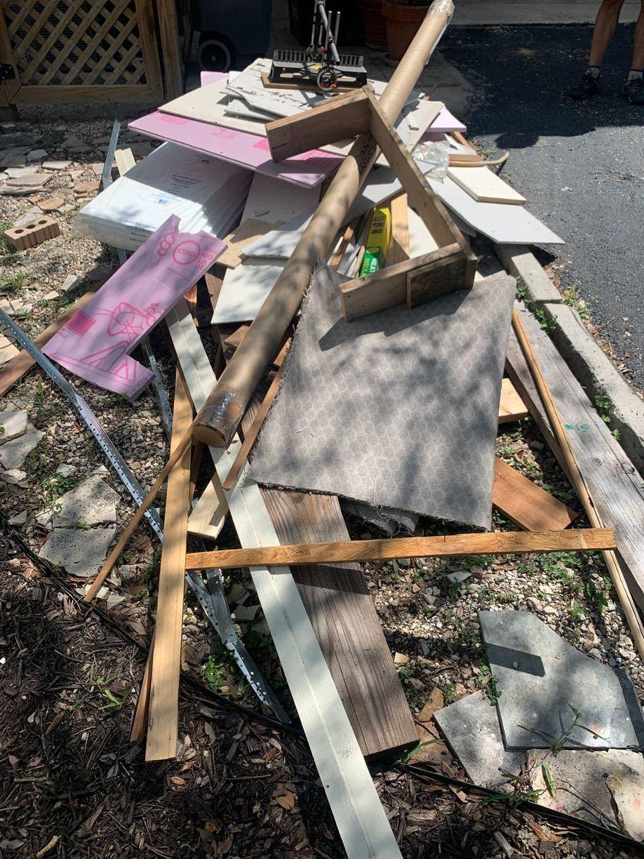 Junk Removal Services in Boerne, TX - Before Photo