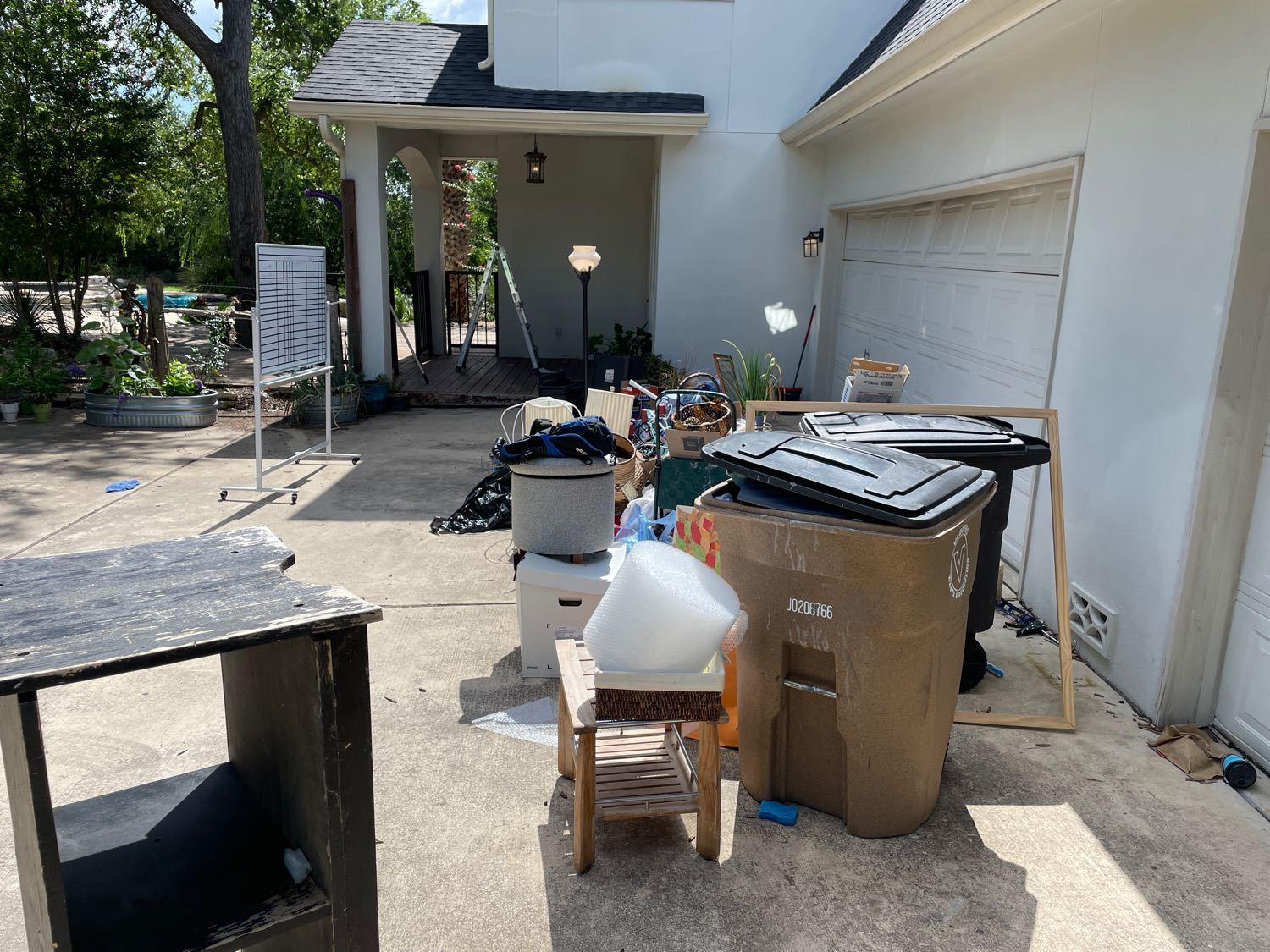Curbside Services Boerne, TX - Before Photo