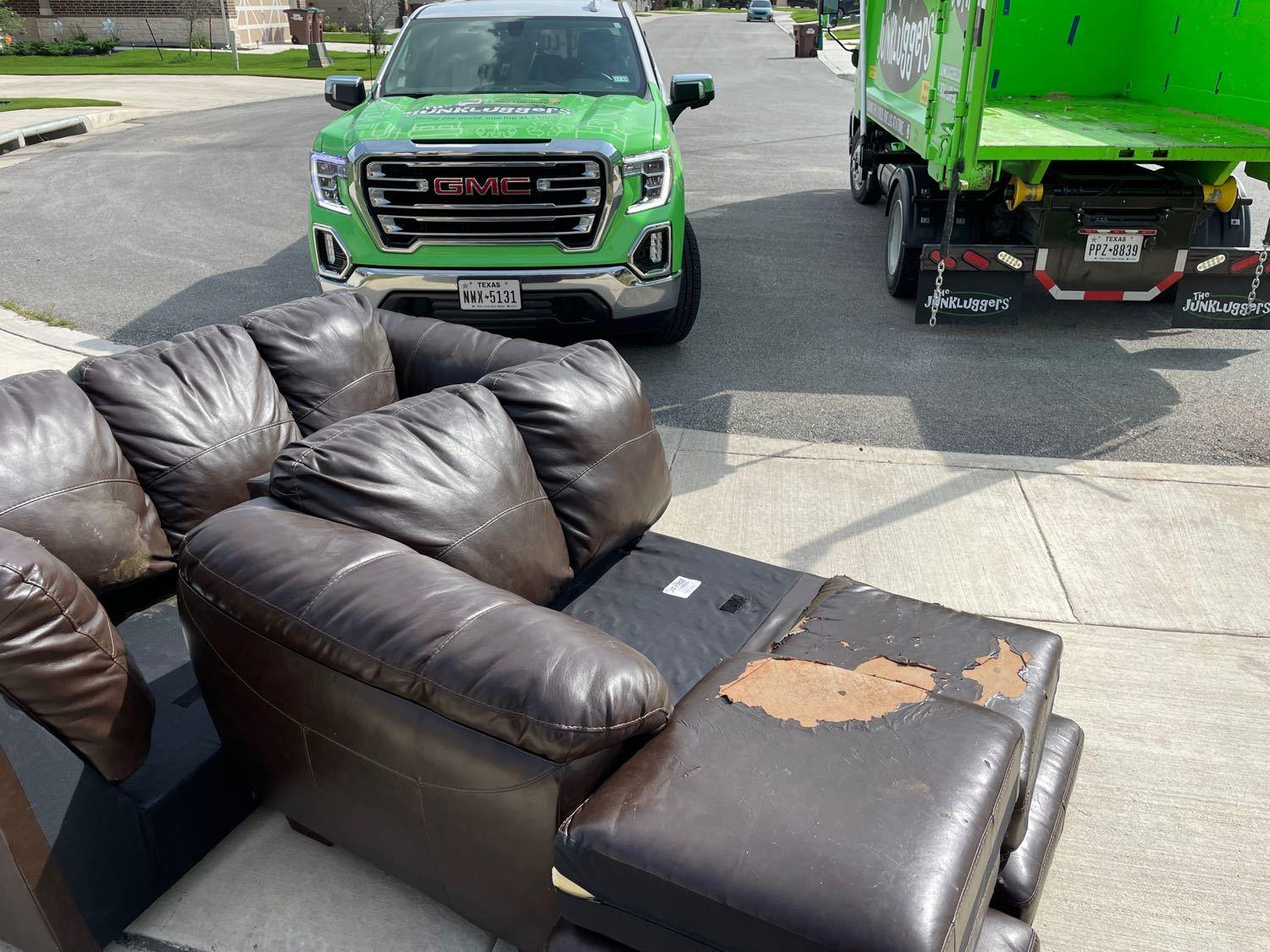 Curbside Pickup Services San Antonio, TX - Before Photo