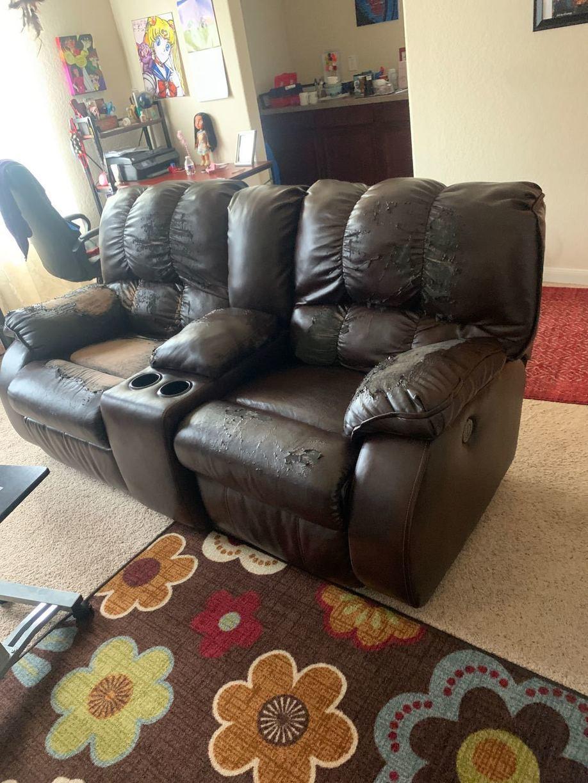 Furniture Removal Services Schertz, TX - Before Photo