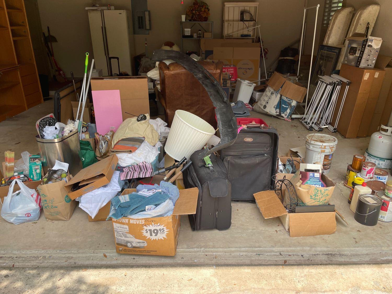 Estate Cleanout Services San Antonio, TX - Before Photo