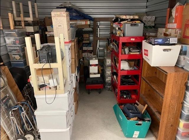 Storage Unit Cleanout Services in San Antonio, TX - Before Photo