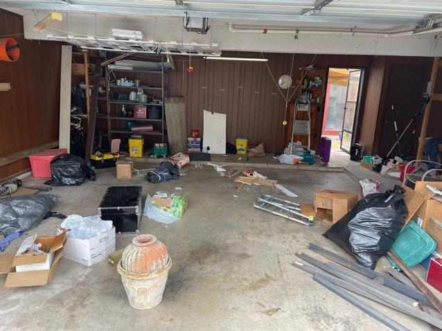 Garage Cleanout Services, San Antonio, TX - Before Photo