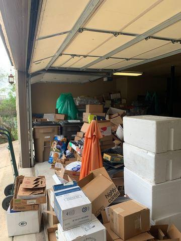 Garage Cleanout, Boerne, TX - Before Photo