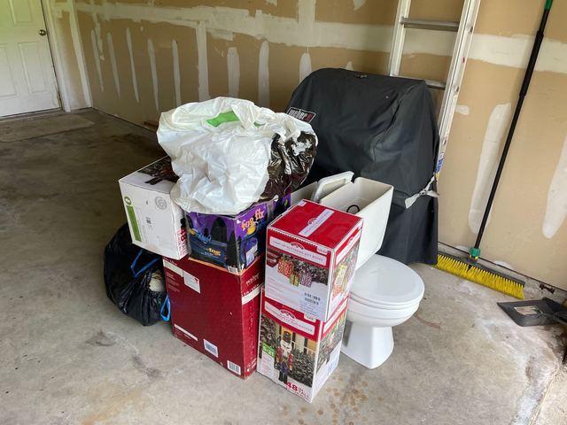 Garage Cleanout Services Cibolo, TX - Before Photo