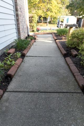 Front Walk Way Lift- Noblesville Indiana