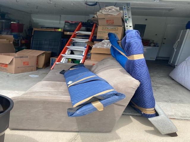 Furniture Removal Services in Oviedo, FL - Before Photo