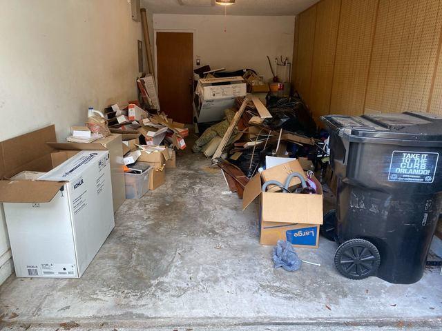 Garage Cleanout Services in Orlando, FL