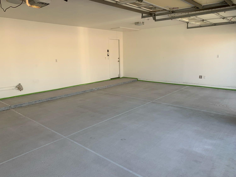 Garage Flooring Job in Mesa! - Before Photo
