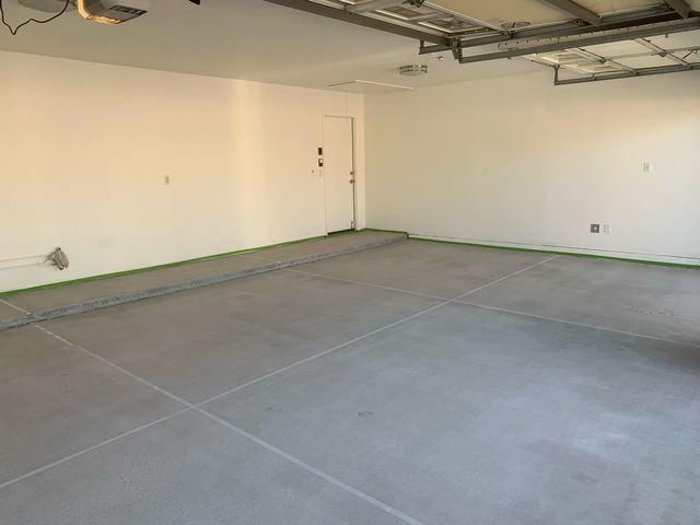 Garage Flooring Job in Mesa!