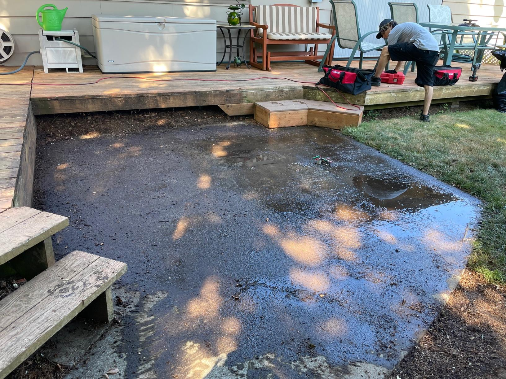 Portland Or - Hot Tub Removal - After Photo
