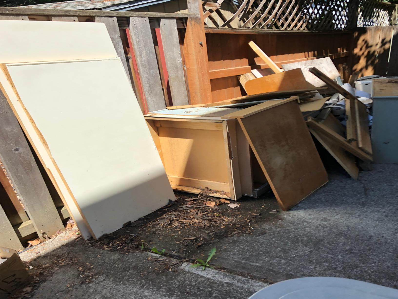 Troutdale, OR - Junk Removal - Before Photo