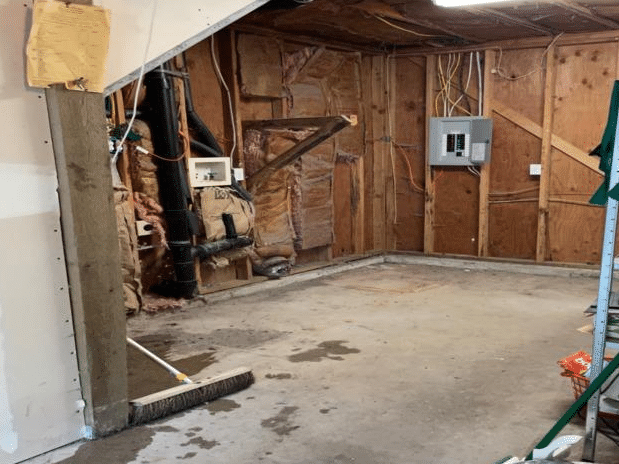Portland, Or. -  Garage and Laundry Area Clean Out - After Photo