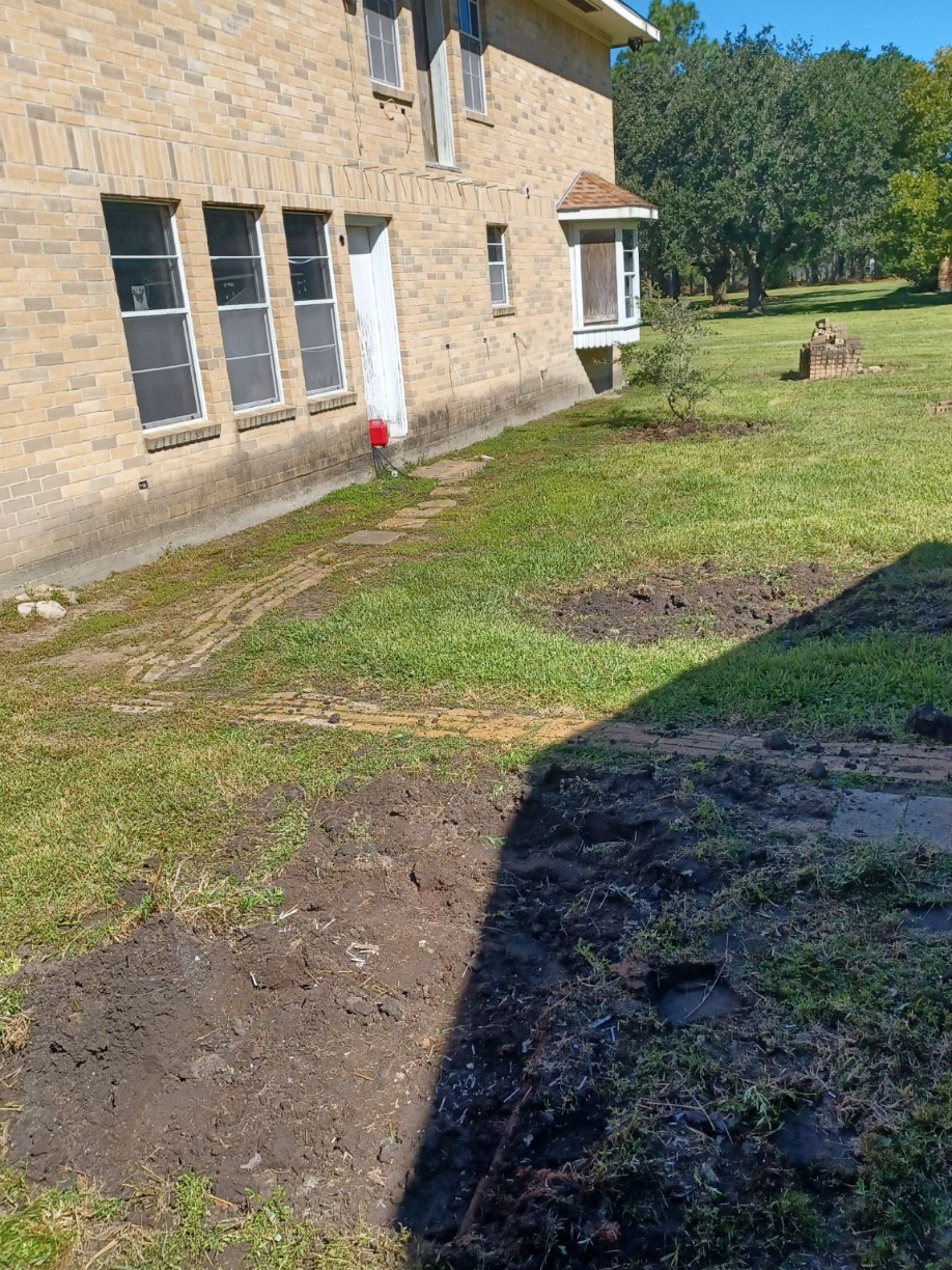 Heavy Brick Tile Removal in Santa Fe, TX - After Photo