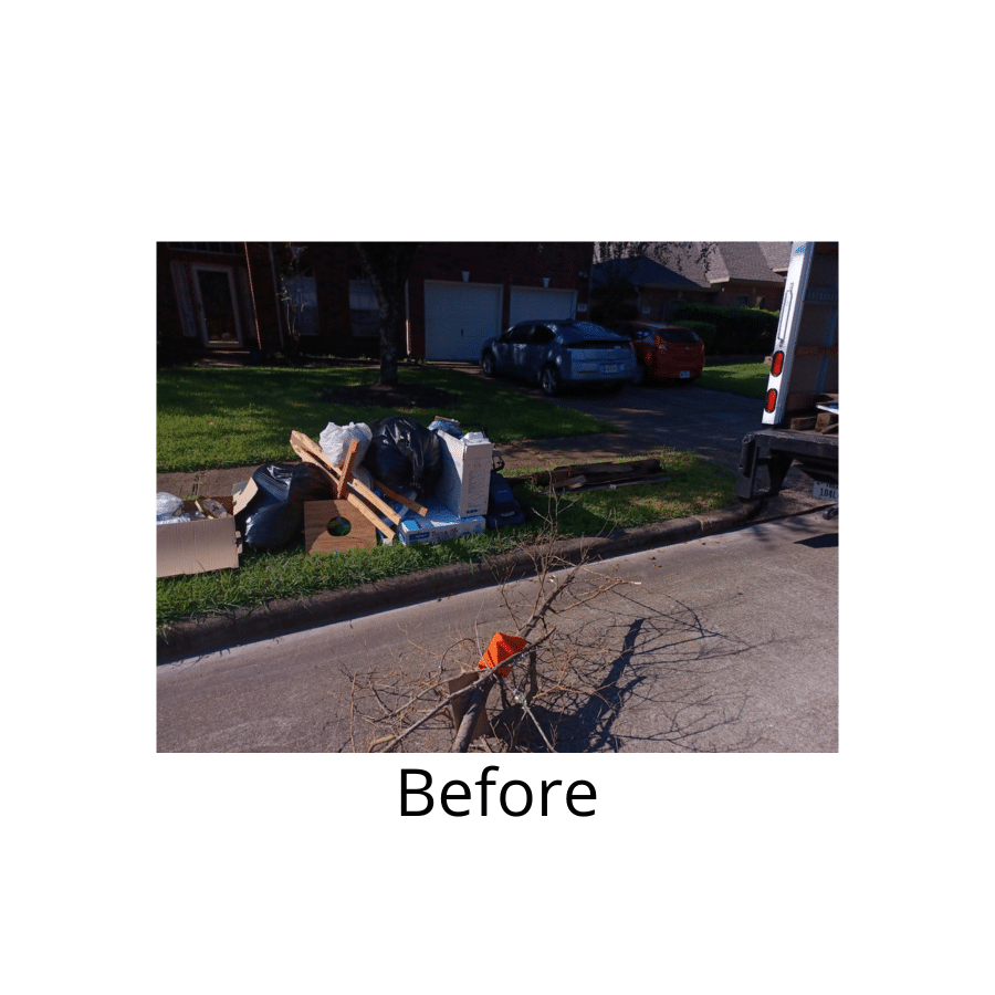 Junk Removal in Houston, TX - Before Photo