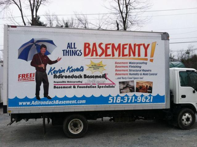 Our New All Things Basementy Truck In The Greater Albany Area