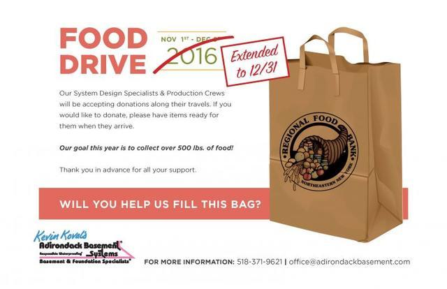 Food Drive Extension