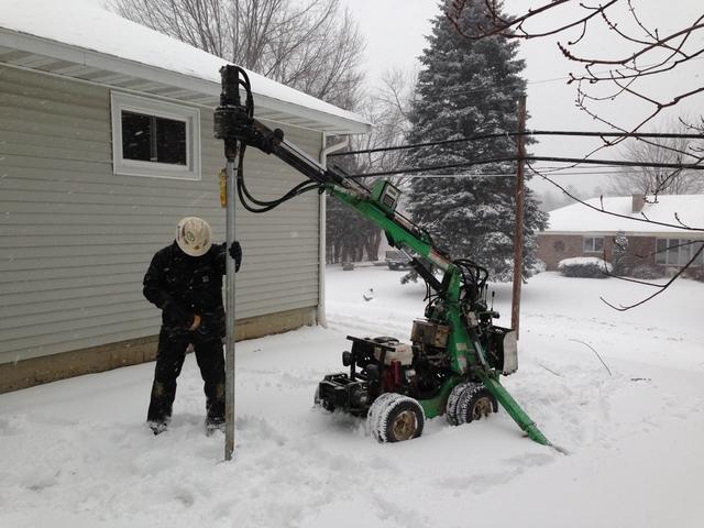 EZ Posts in snow