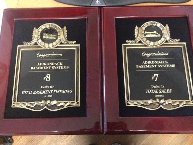 Adirondack Basement Systems Receives Awards at International Convention in Connecticut