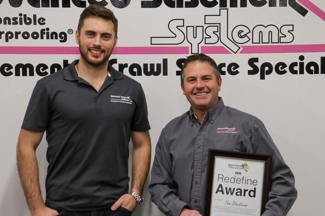Advancedd Basement Systems Employees of the Year 2019